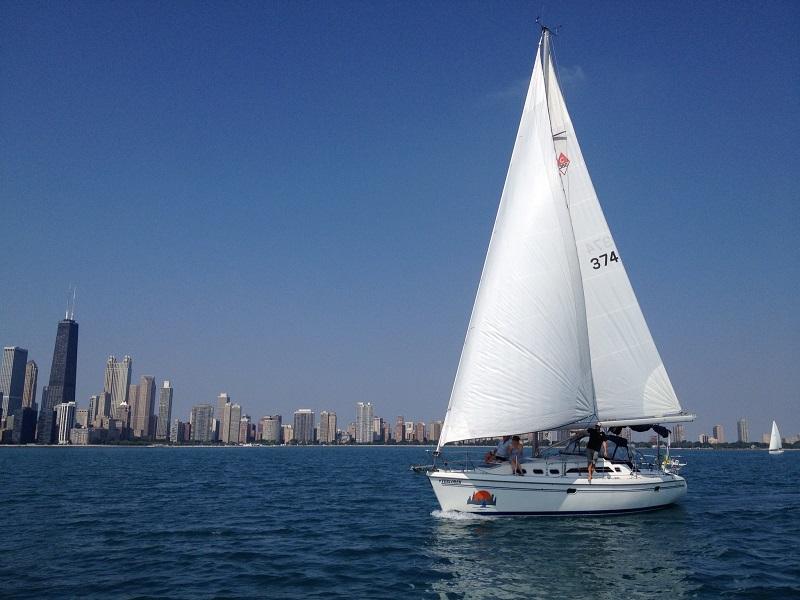 daytime sailing chicago sailboat charterschicago sailboat charters